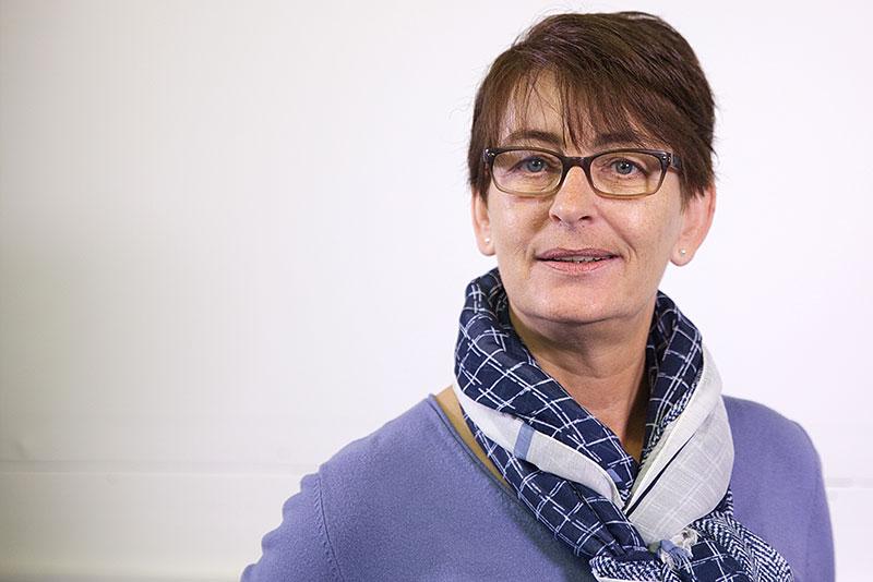 Anja Pfützenreuter - Objektleitung Unterhaltsreinigung