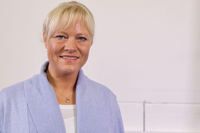 Bettina Eiken - Objektleitung Unterhaltsreinigung