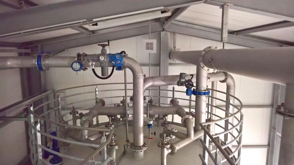 Industriereinigung beim Wasserversorger
